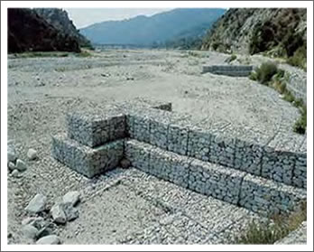 Channel Lining Gabions