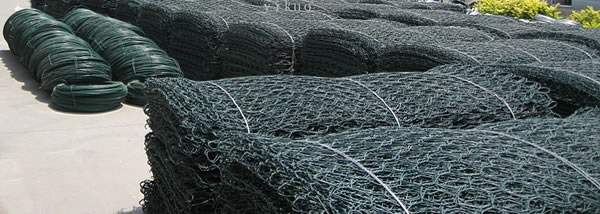 PVC Coated Wire Mesh Gabions